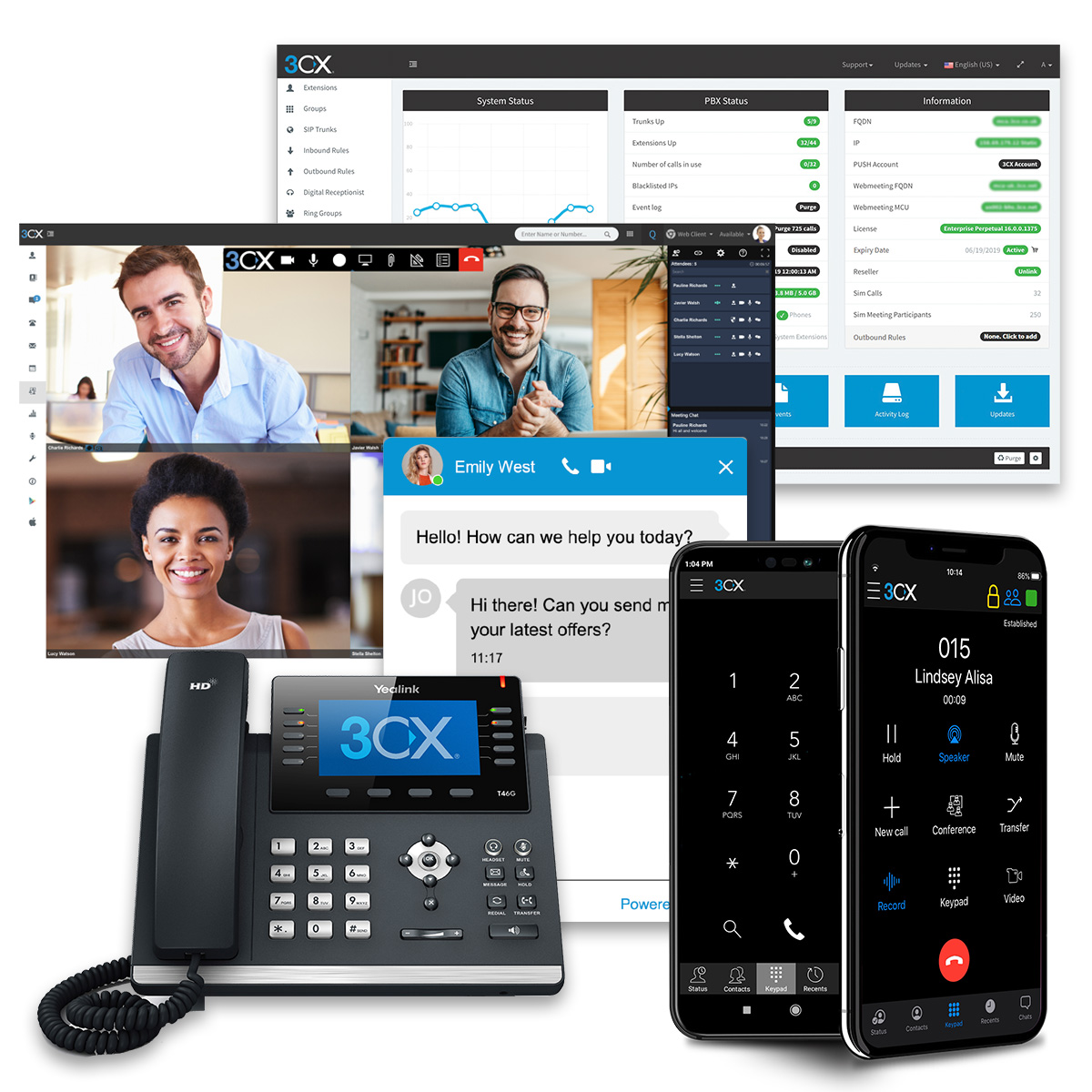 3CX voip providers - the best VoIP technology and functionality
