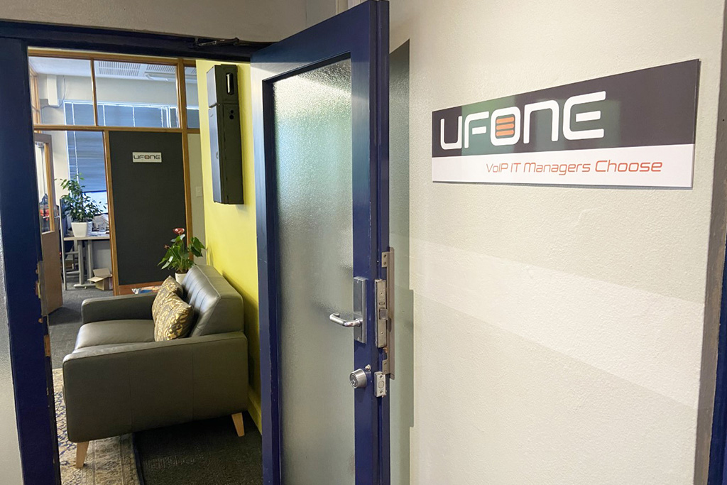 UFONE's offices in Auckland